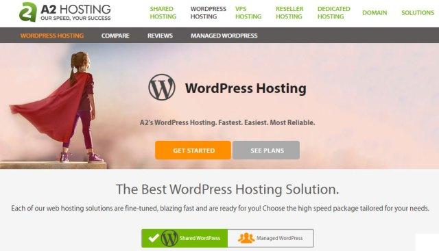 A2 Hosting Webhosting Website