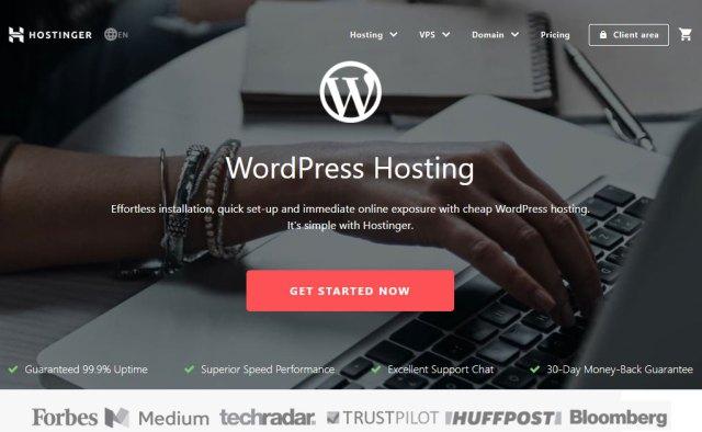 Hostinger Webhosting Website