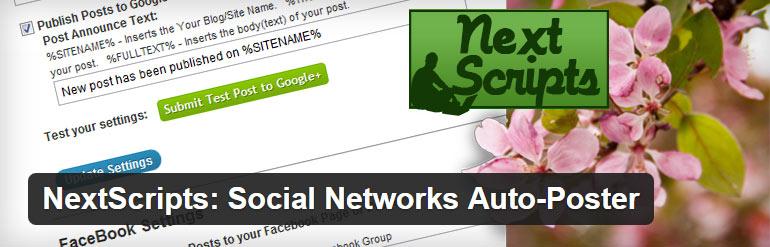 Social Network Auto Poster WordPress Plugin
