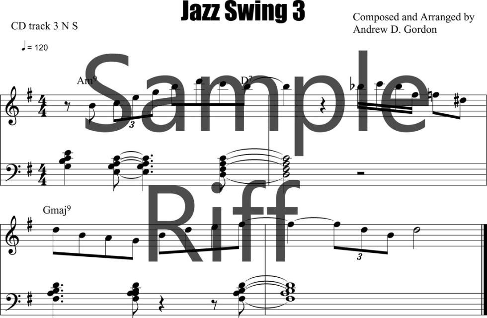 Lesson 3 PDF/MP3/MIDI/MP4video file ADG030-03