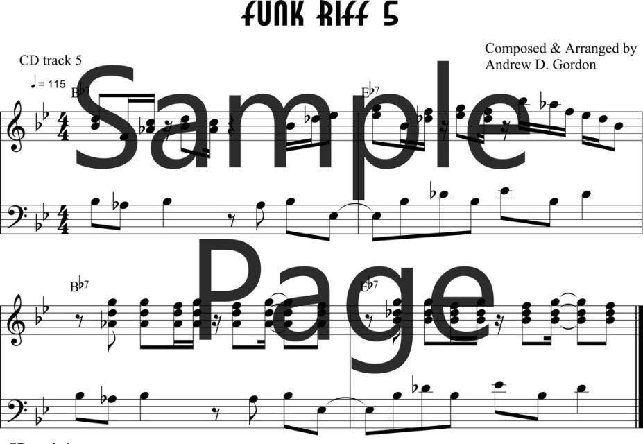 Lesson 5 PDF/MP3/MIDI/MP4video file ADG0130-05