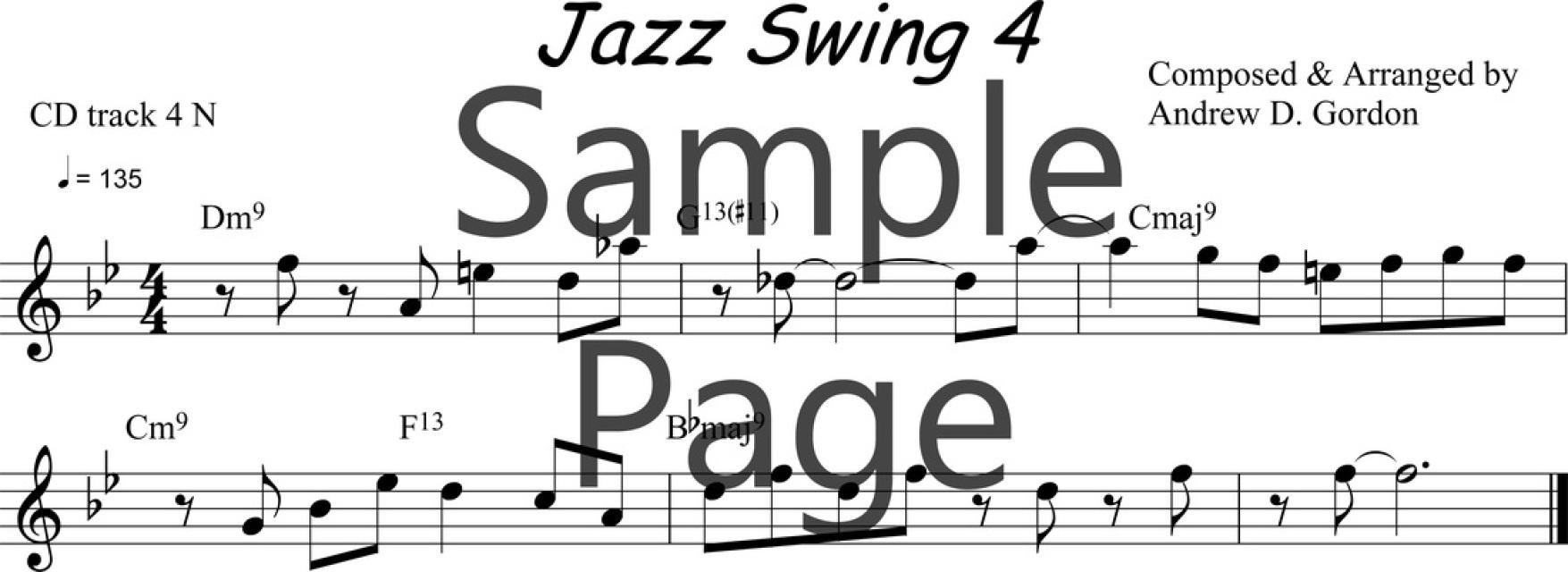 Lesson 4 PDF/MP3/MIDI/MP4video file ADG037-04 Bb version