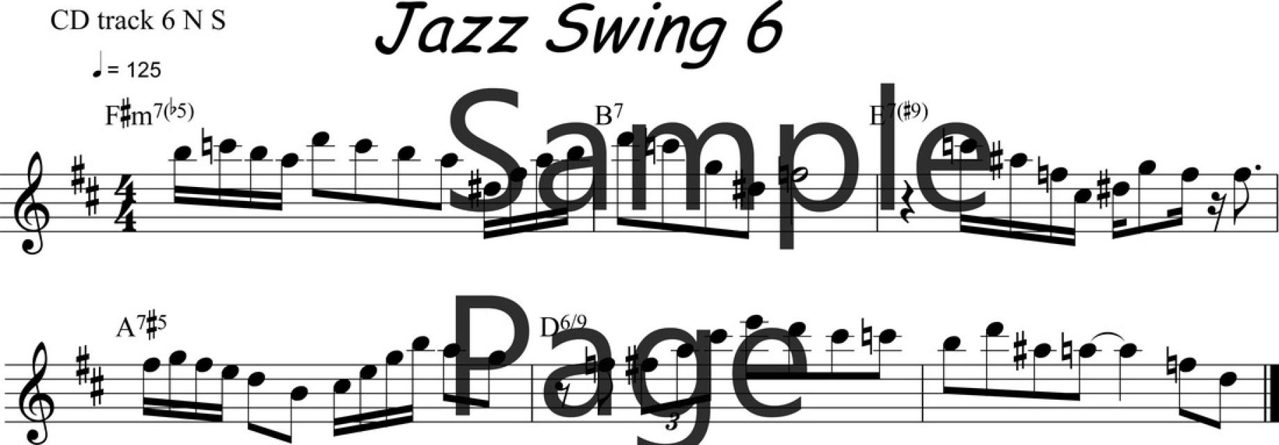 Lesson 6 PDF/MP3/MIDI/MP4video file ADG037-06 Bb version