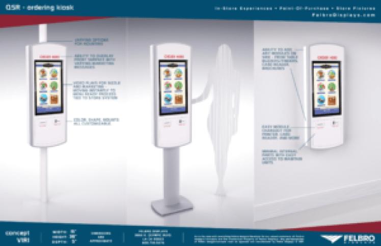 BrightSign & Felbro Self-Order Kiosk