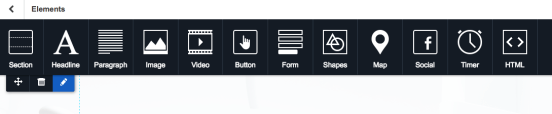 Landing Page Content Module