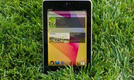Google's Nexus 7 tablet – Now available at Google Play store