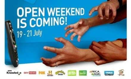 DStv Open Weekend: 19 July – 21st July