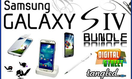 Win a Samsung Galaxy S4 Bundle with Tangled Cables & Cellphone Accessories