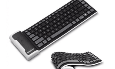 Flexible Bluetooth Keyboard now available @ Tangled