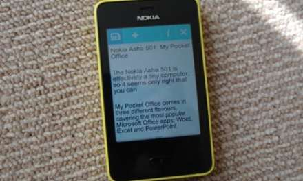Word, Excel and PowerPoint for the Nokia Asha Full Touch devices