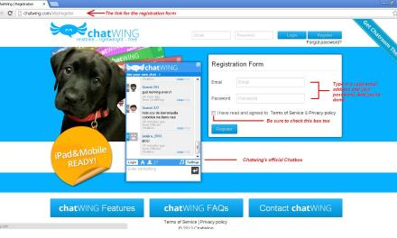 Support Your Site by Embedding Chatwing Chat Software
