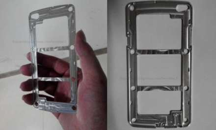 Images spotted of the structural component of Samsung's next flagship – Samsung Galaxy S5, Maybe?