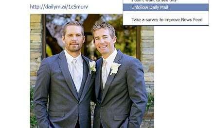 Facebook rolls out 'Unfollow' button