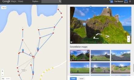 Create your own street views with Google Maps