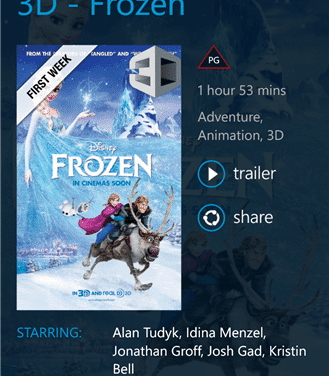Entertainment app Ster-Kinekor now available for Nokia Lumia
