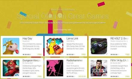 Google Play begins with special offer on games in second birthday sale