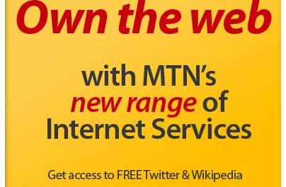 Free BBM, Facebook and Twitter in MTN's latest offer