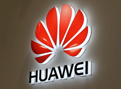 Huawei scores rugby's big five