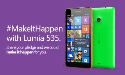 Pledge to do something you've always wanted, and #MakeItHappen with Microsoft Lumia