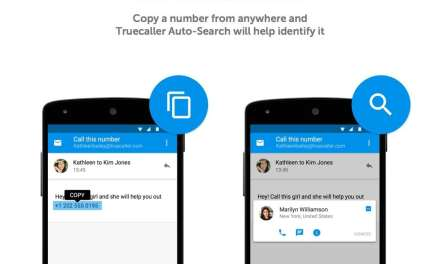 New Truecaller Feature: Auto Search – instantly identifies a number and gives easy access to calling and texting