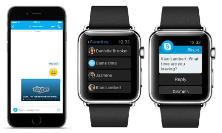 URL Previews in Chat & New Apple Watch Features In Latest iPhone Update In Skype