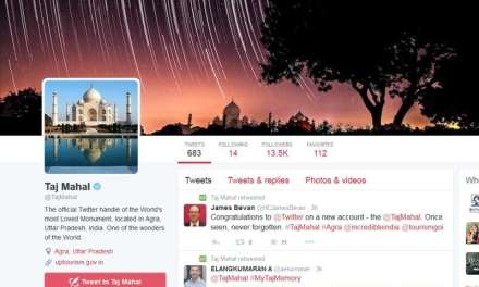 Taj Mahal Becomes The First Historical Monument To Enter The World Of Twitter!