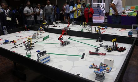 Trash trekking with First Lego League and The KZN Science Centre