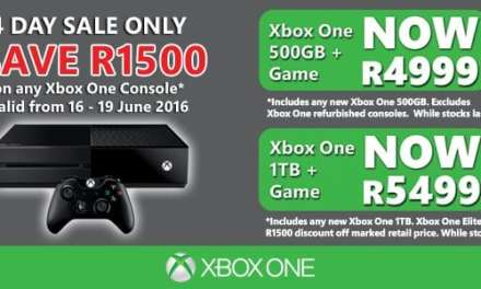 Prima Interactive announces four day price drop on Xbox One consoles