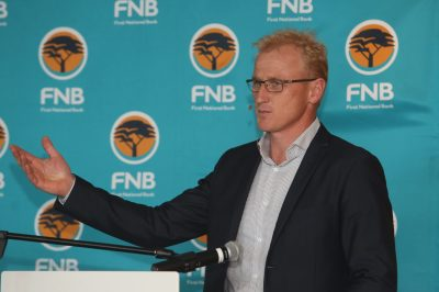 Jacques Cilliers CEO FNB First National Bank