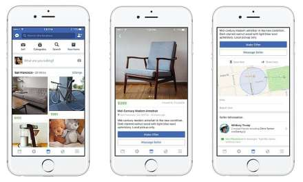 Facebook Launches Marketplace To Trade With Your Local Community