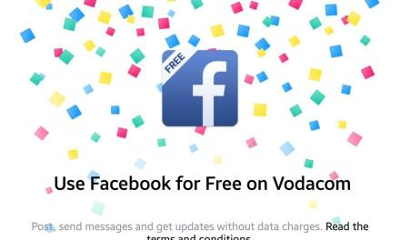 Facebook Is Now Free On Vodacom