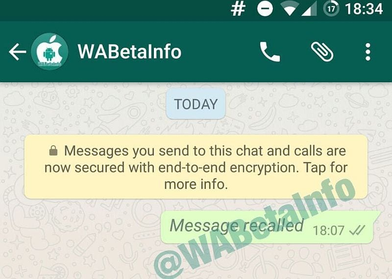 WhatsApp for Android Will Soon Allow You To Recall, Edit Messages After Sending Them