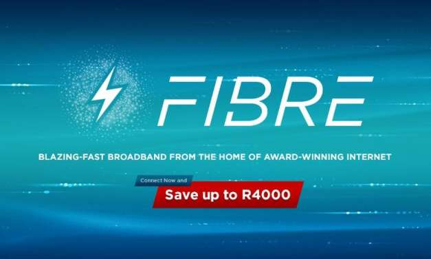 Connect to Blazing-Fast Broadband with Afrihost Fibre and Save up to R4000!