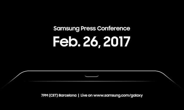 Samsung Galaxy Tab S3 Set To Be Unveiled On 26 February