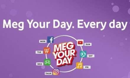 Vodacom launches  Meg Your Day promotion