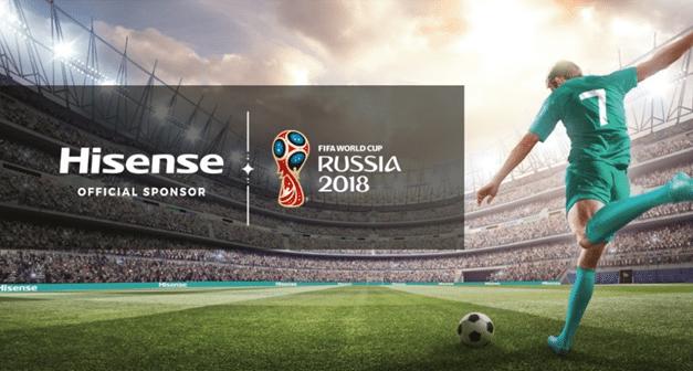Hisense TVs at IFA: Celebrating the FIFA World Cup 2018™