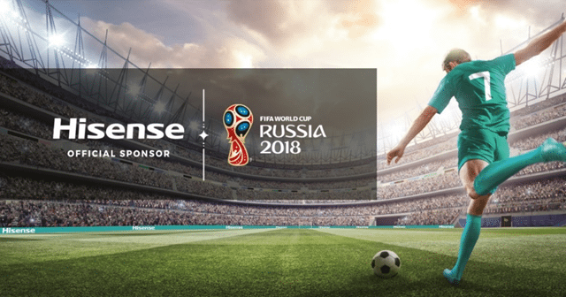 Hisense TVs at IFA: Celebrating the FIFA World Cup 2018™
