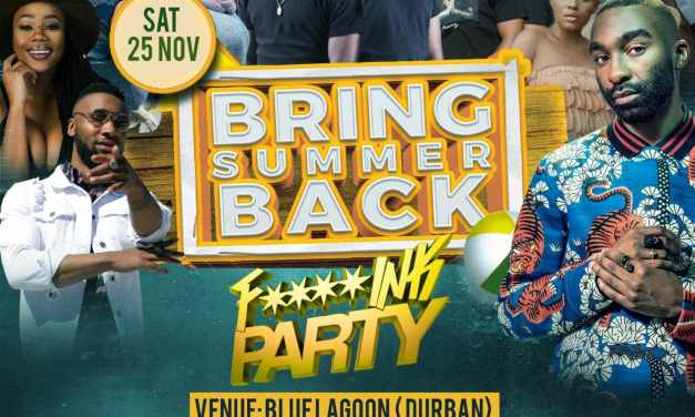 Celebrate the Beginning of Summer with a Tropical Beach Party in Durban, South Africa – BRING SUMMER BACK