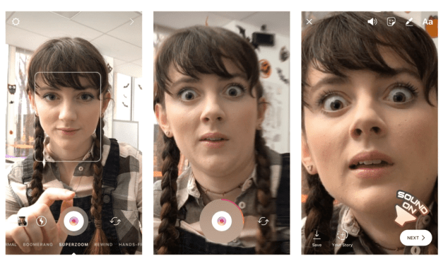 Instagram Introduces Superzoom, Halloween-Inspired Stickers And Filters
