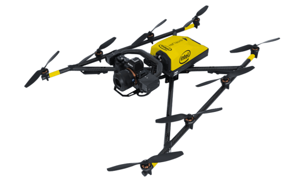 Drone Use Case: Intel's Falcon 8+ Drone Helps Preserve 15th Century German Cathedral