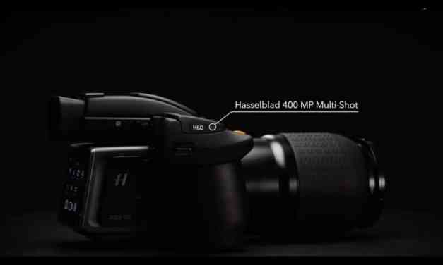 400-Megapixel Multi-Shot Medium Format Camera Launched by Hasselblad