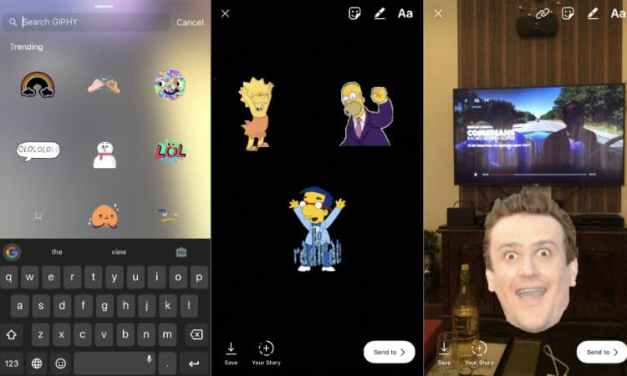 Stories on Instagram Receive GIF Stickers with Access to Giphy Database
