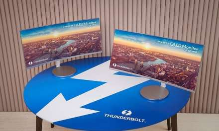 Samsung Unveils First Thunderbolt 3 QLED Curved Monitor
