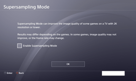 Supersampling Introduced to PS4 Pro with PS4 System Update 5.50 Beta