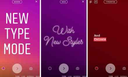 'Type' Mode for Text-Only Stories Launched by Instagram