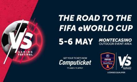 Tickets on sale for the VS Gaming FIFA eWorld Cup Qualifier Tournament