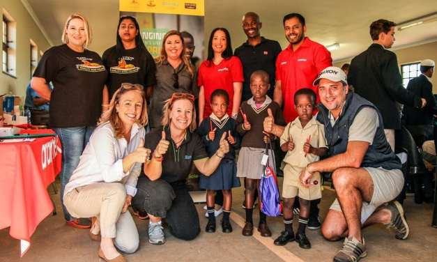 No mean feat as Project Soul 2 Sole donates 300 pairs of new shoes to learners at Ximba
