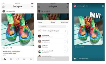 Instagram Now Allows You To Share Posts in Your Stories