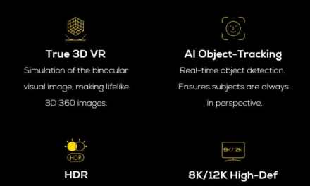 Experience True 3D With Detu MAX: World's First 3D 8K 360° VR Camera with AI Chip
