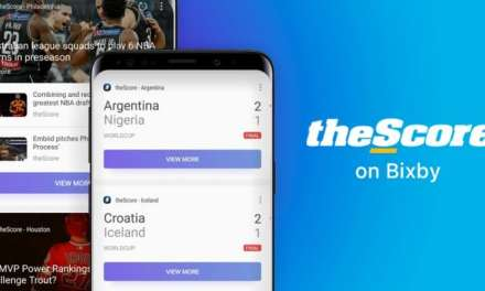 Samsung Partners With theScore to bring live sports scores and news to Bixby